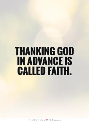Faith Quotes Faith In God Quotes