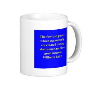 wilhelm reich quote coffee mug