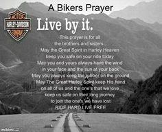harley davidson quotes | Bikers Prayer photo bikersprayer.jpg More