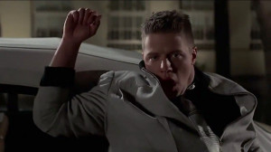 Photo of Biff Tannen , as portrayed by Thomas F. Wilson from