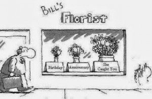 Funny short joke story - Bill's florist - birthday - anniversary ...
