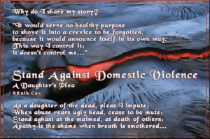 Stand Against Domestic Violence!