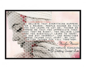 Marilyn Monroe Quotes I Believe