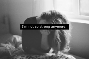 alone, cry, crying, depressed, depression, girl, strong, stupid, text ...