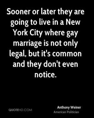 Anthony Weiner Marriage Quotes