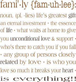 Family Meaning Definition
