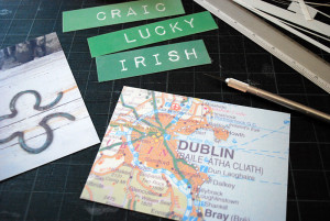 ... Craft Idea Shrinky Dink Necklaces and Pins with Irish Maps and Sayings
