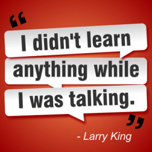 Smart quotes - Larry King