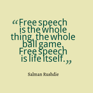 Freedom of Speech and Expression Quotes