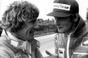 James Hunt, Niki Lauda, Sweden © The Cahier Archive