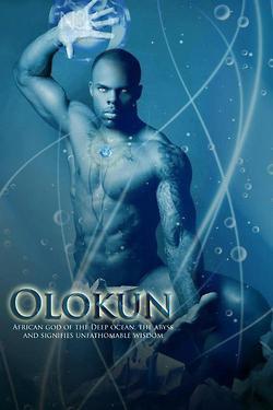OLOKUN: Yoruba Orisha [god] of the Deep Ocean, The Abyss and signifies ...