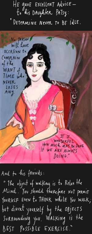 Maira Kalman - Time Wastes Too Fast