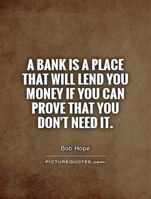 Bank Quotes