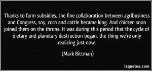 More Mark Bittman Quotes
