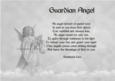 about guardian angels | Angels Angel Figurines Guardian Quotes Poems ...