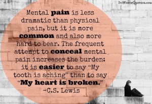 Mental Pain Quotes