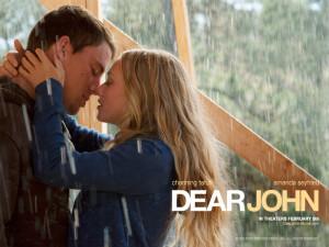 Dear John (Movie) Dear John couple kissing