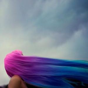 pink magenta purple indigo teal turquoise hair