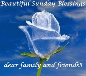 Beautiful Sunday Blessings