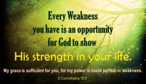 Inspirational Bible passages and quotes on strength