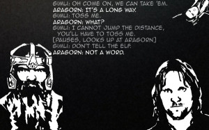 quotes funny the lord of the rings aragorn gimli legolas Entertainment ...