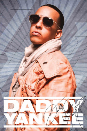 Daddy Yankee - Jacket poster