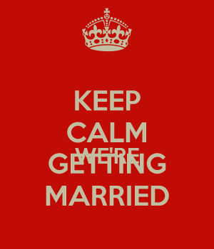 Happy Wedding Anniversary Quotes. We Are Getting Married Quotes. View ...