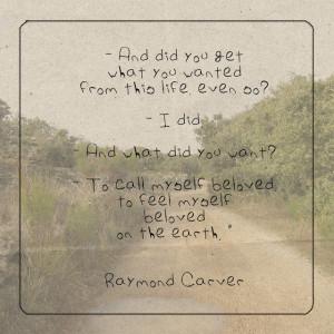 Quote: Raymond Carver