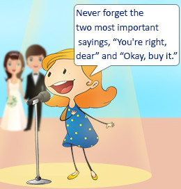 Funny speech by maid of honor