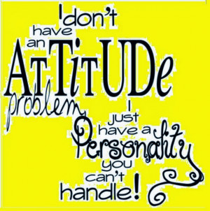 Funny Attitude Quotes for Facebook