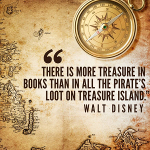 Walt Disney Quote About Books
