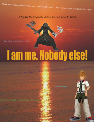 Kingdom Hearts Quotes Roxas quotes wallpaper by