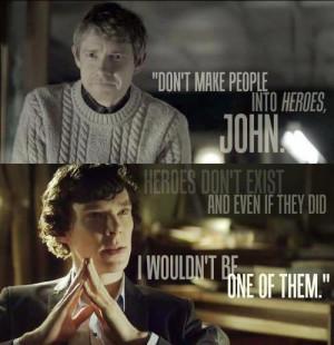Sherlock Holmes and John Watson John and Sherlock