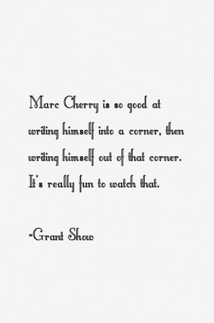 Marc Cherry is so good at writing himself into a corner then writing