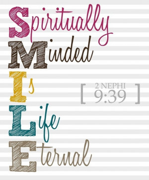 love this scripture because it reminds me to SMILE, and that to have ...