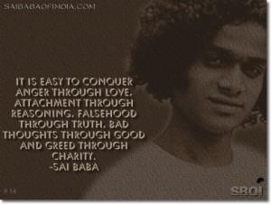 Index: Sai Baba Quotes & sayings