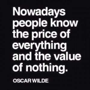 Value what you have