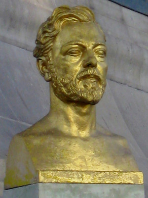 Bust, Alexandre Gustave Eiffel. Paris, France. Photo by Amber ...