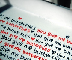 He Gives Me Butterflies Quotes