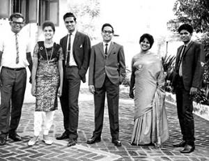 Ravi Zacharias Family Ravi zacharias third from