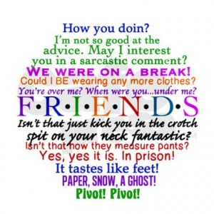 chandler gifts chandler magnets friends tv quotes magnet