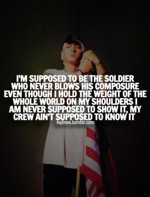 Quotes From Eminem | eminem, slim shady, hqlines, quotes - inspiring ...