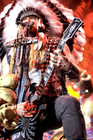 Zakk Wylde Stage Wallpaper