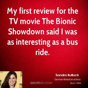 Sandra Bullock Movie Quotes