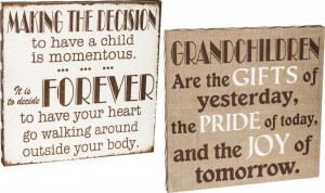 Shabby Chic Family Quotes Stretched Wall Canvases Set Of 2