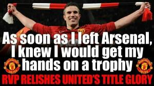 Robin Van Persie Soccer Quote