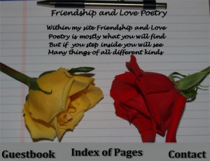 Friendship And Love Poetry