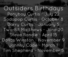 Similar Galleries: The Outsiders Quotes , The Outsiders Darry Curtis ,