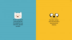 Adventure Time motivation wallpaper 3840x2160