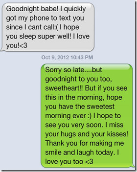 These are called cheats good night texts not because people can't be ...
